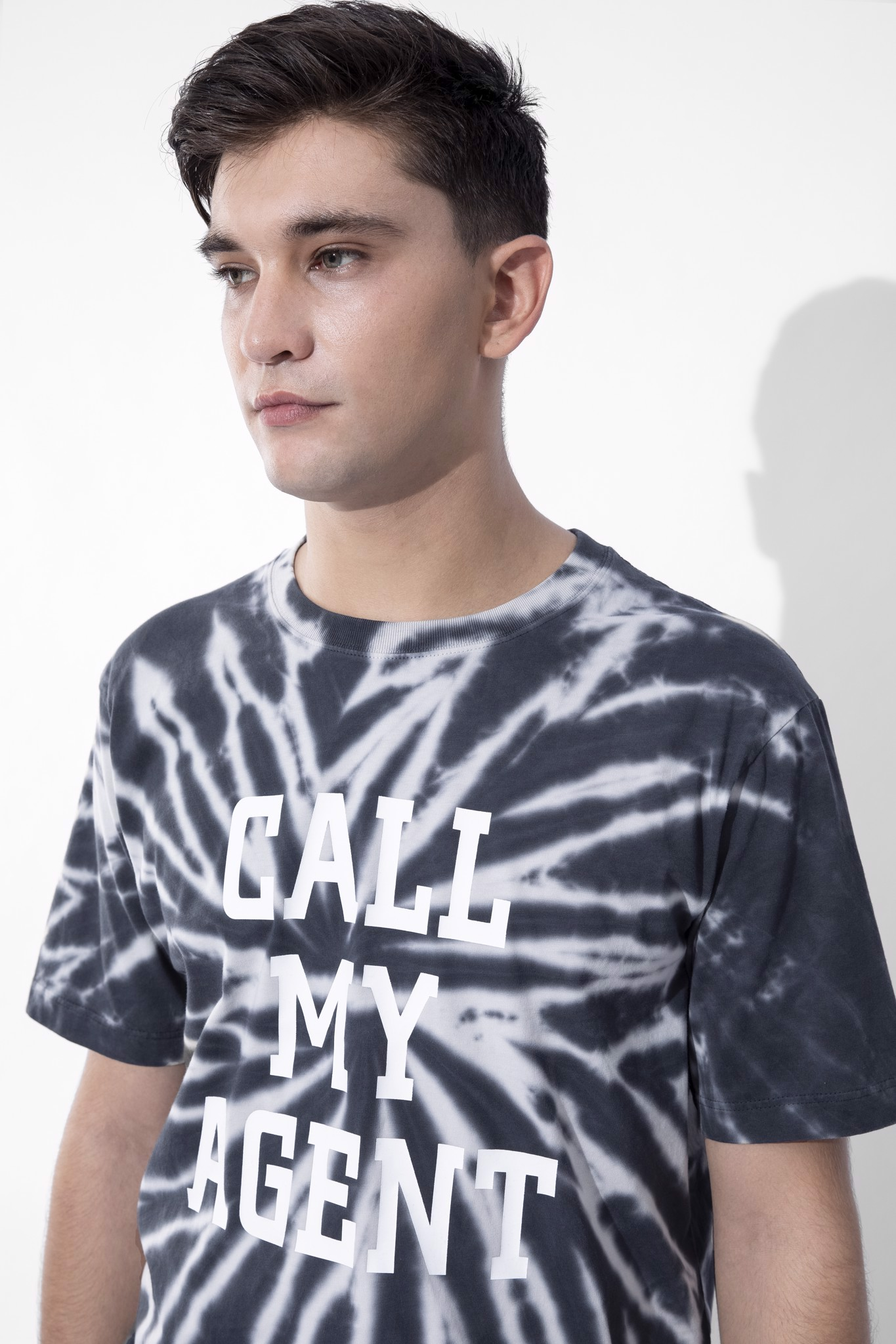 Áo Thun Tie-Dye Call My Agent In Dark Mood