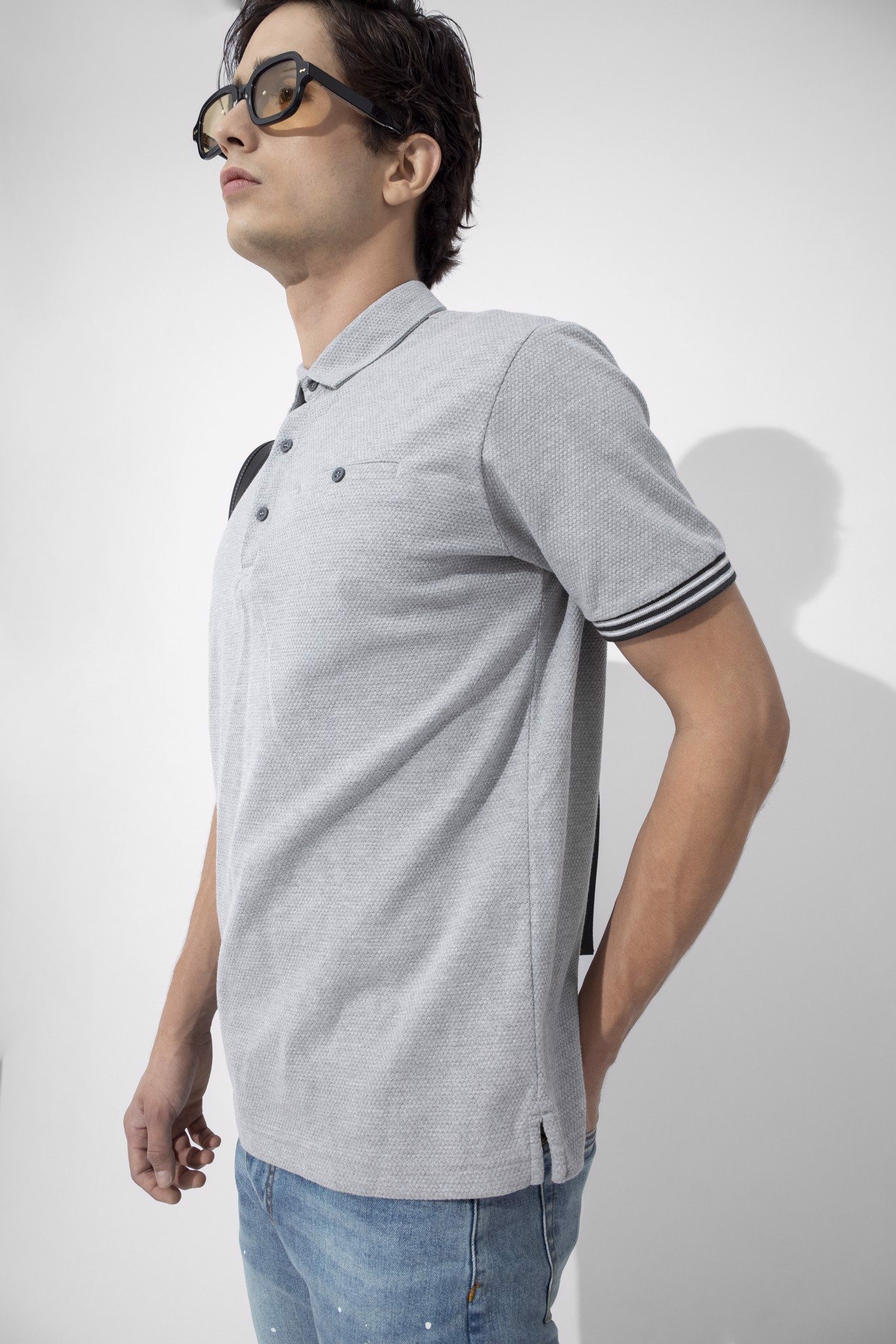 Áo Polo Gentle In Cotton Pique