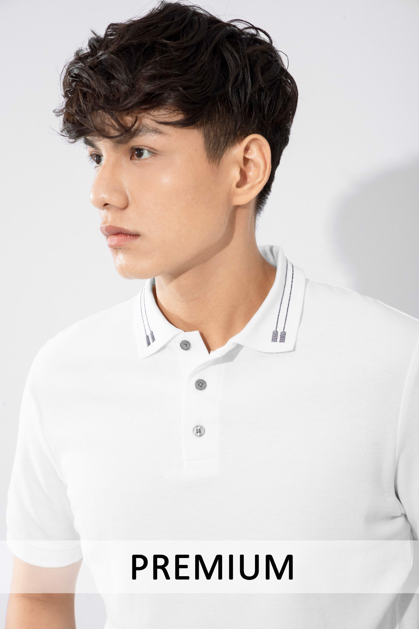 Áo Polo UB Basic Gentle Embroidered Collar