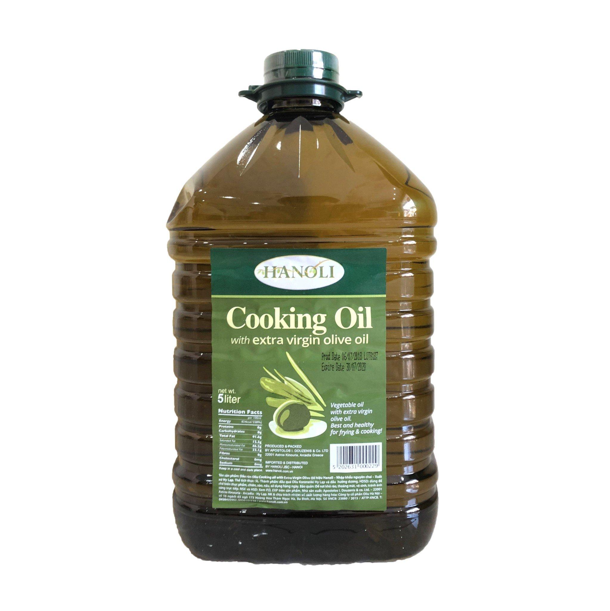 Dầu oliu 3 lít HANOLI- TO