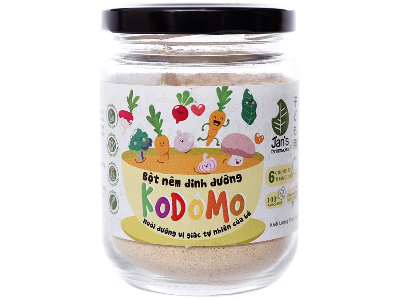Hạt nêm Jan Kodomo Kid 200g- TO