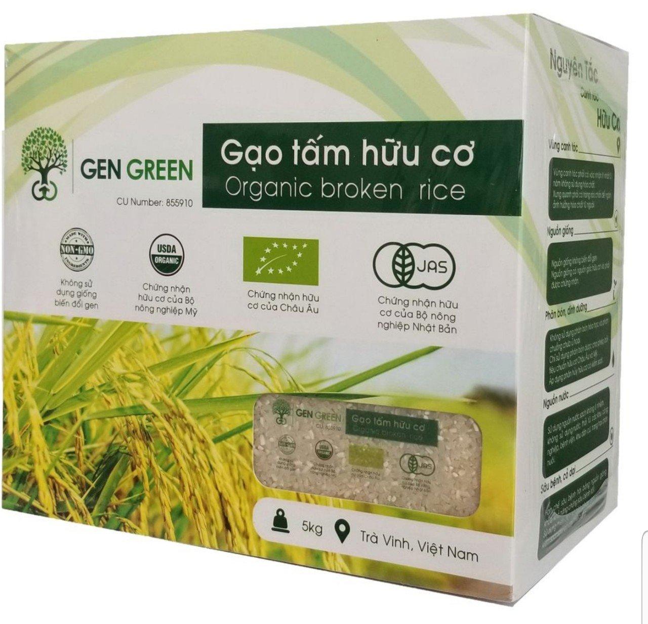 Gạo tấm hữu cơ