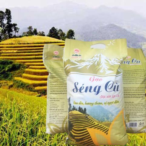 Gạo séng cù Lào Cai 5kg