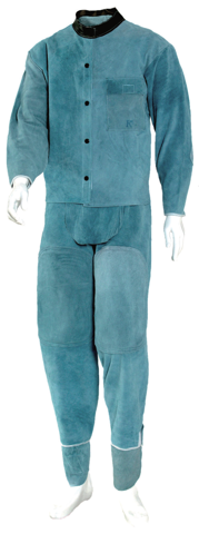 KD-203 [Full Body Image of Welding Clothing]