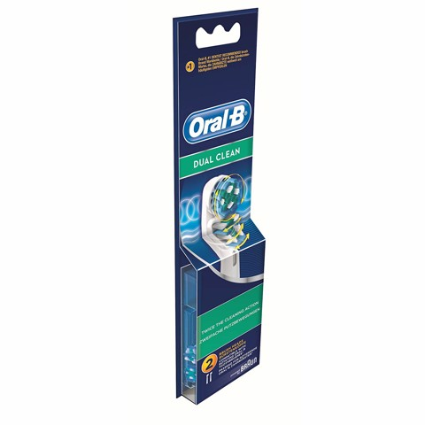 Hộp 2 đầu bàn chải Oral-B Dual Clean - Made in Germany