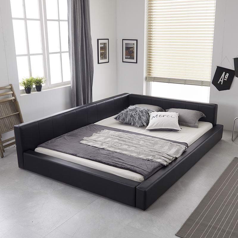 Giường phản da pu – chiếc giường dành cho mọi gia đình