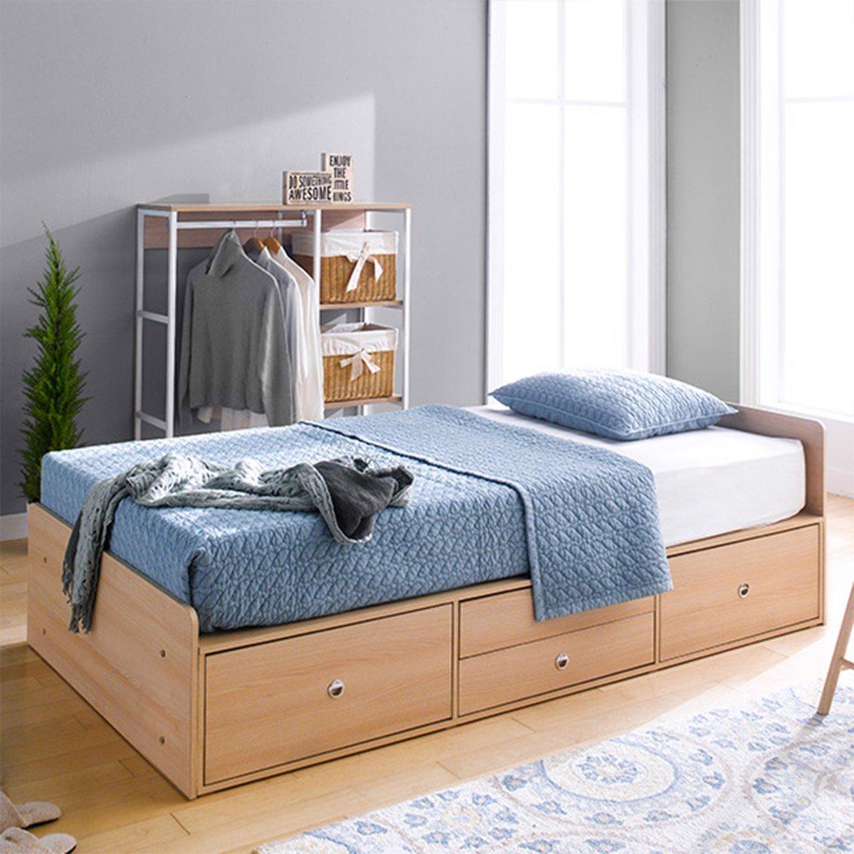 Giường có ngăn kéo size ss