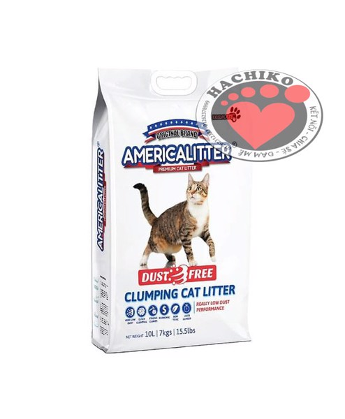 cat-ve-sinh-america-litter-10l
