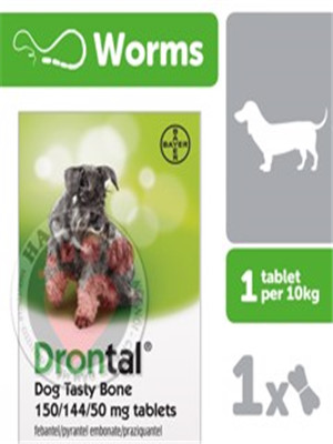 Thuốc giun Drontal cho chó