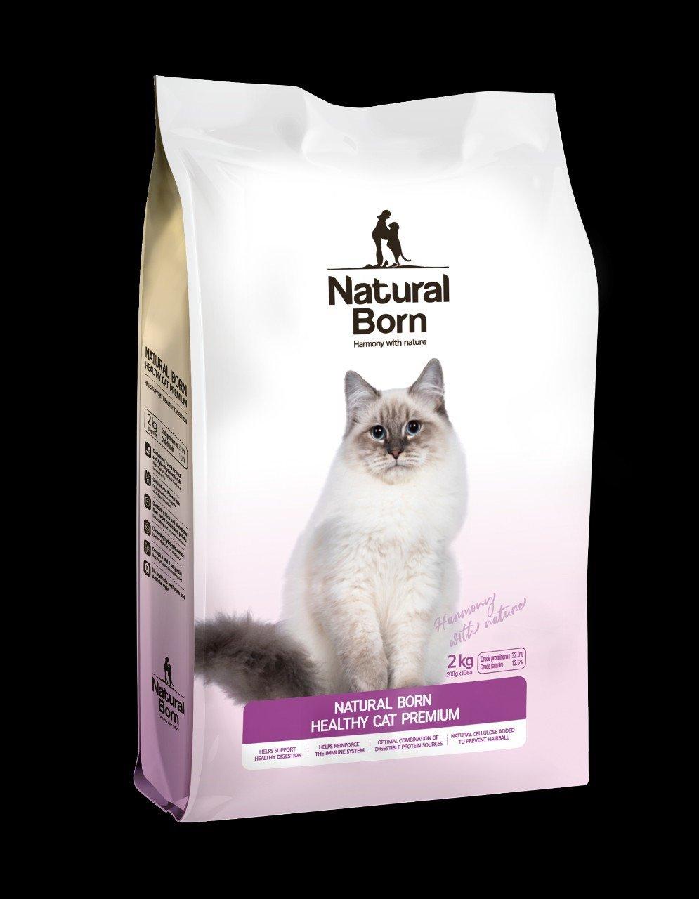 Thức ăn cho mèo Natural Born