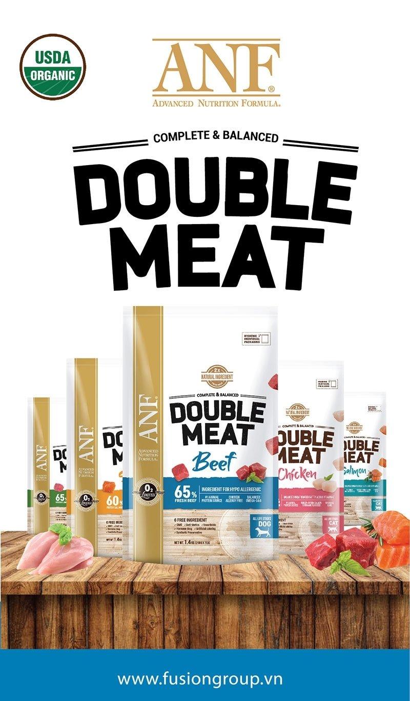 Thức ăn hạt ANF Double Meat- gấp đôi thịt tươi cho cún