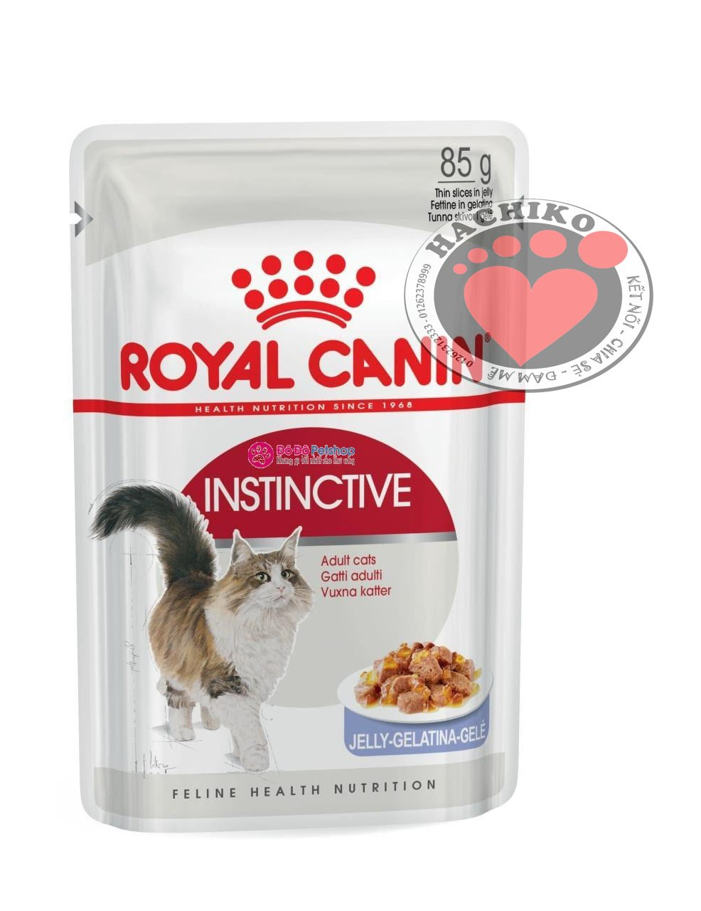 Pate Royal Canin INSTINCTIVE (Jelly) 85g