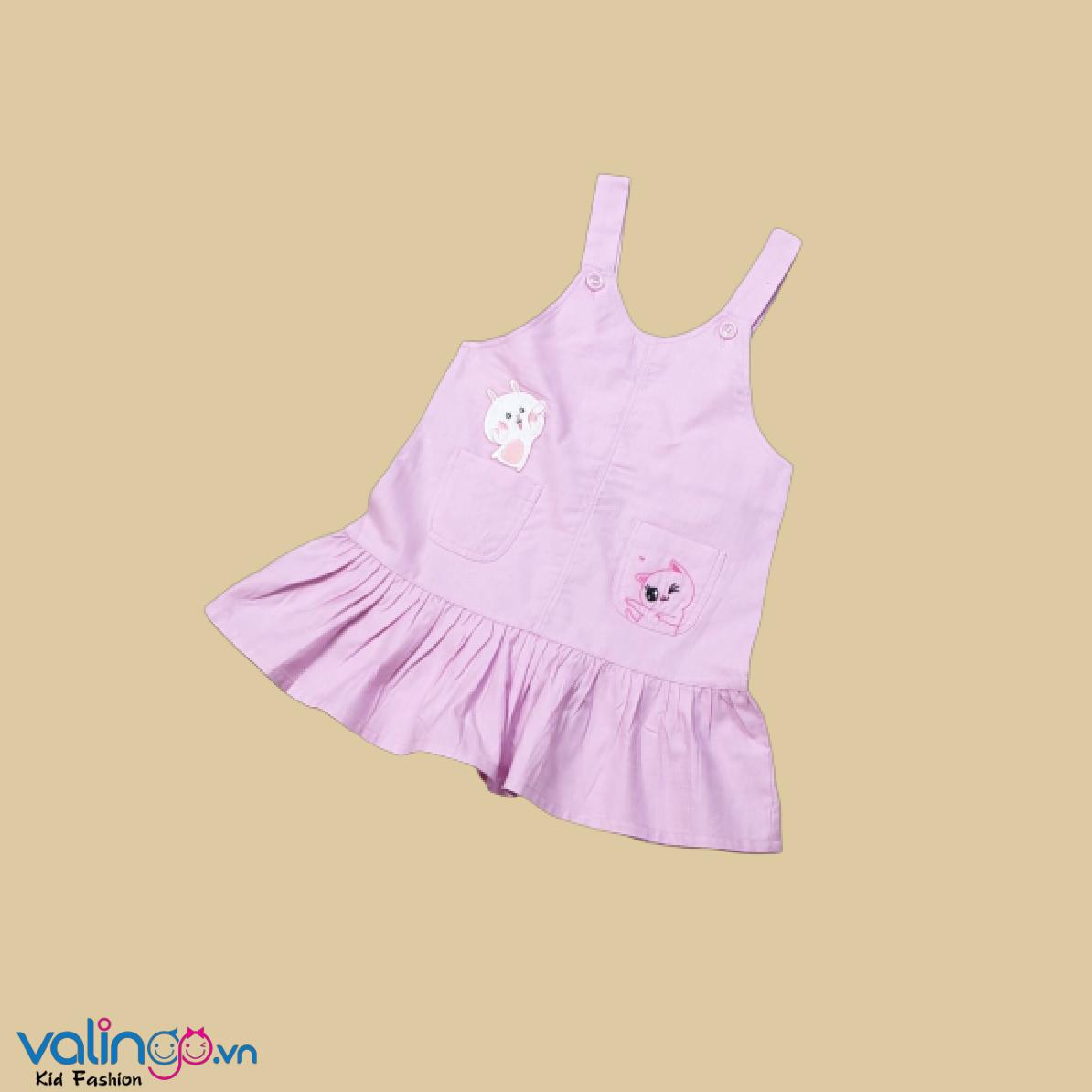 Yếm váy cho bé gái