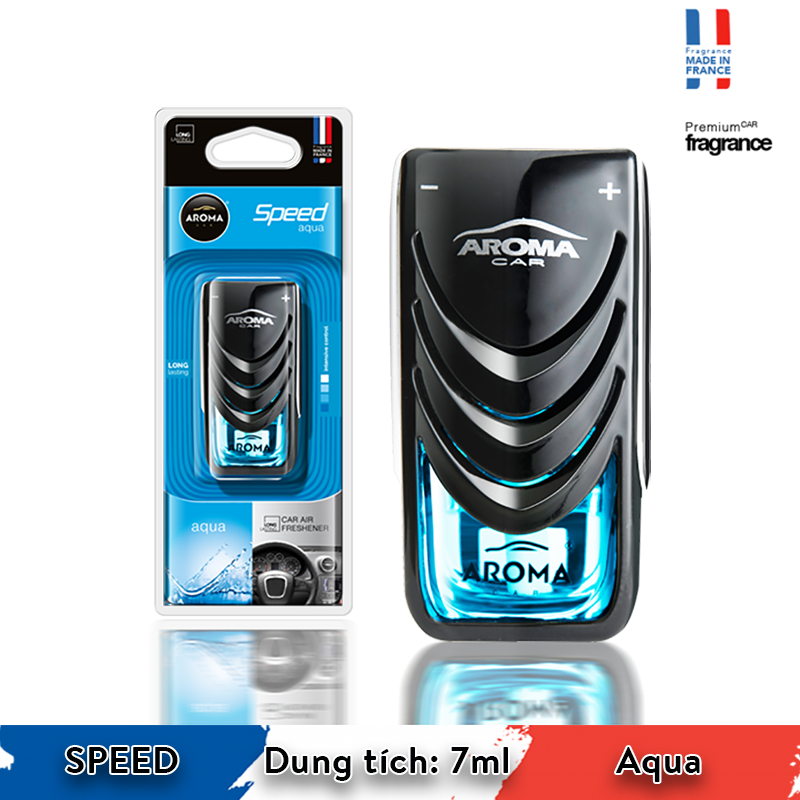 Kẹp cửa gió Aroma Car Speed 7ml - Aqua/ACS3D-01