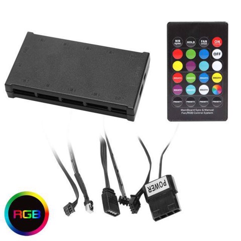 CONTROLLER FOR HALO DUAL RING RAINBOW RGB 120