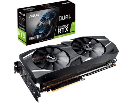 ASUS DUAL GEFORCE RTX™ 2070 EVO ADVANCED EDITION 8GB GDDR6