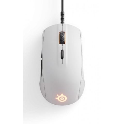 Chuột STEELSERIES RIVAL 110 MATTE BLACK/WHITE