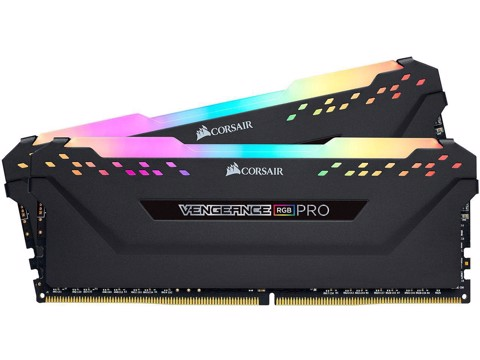 RAM CORSAIR VENGEANCE RGB PRO 16GB (2 X 8GB) BUS 3000 C15 BLACK