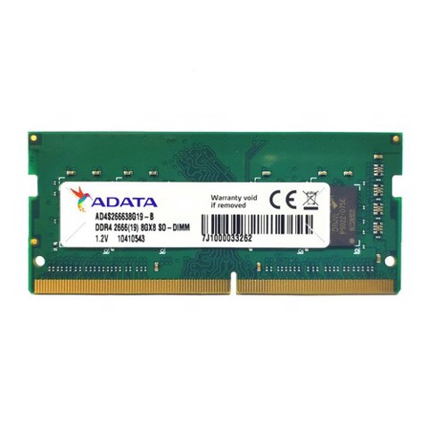 Laptop ADATA 8GB DDRAM 4 BUS 2666MHZ