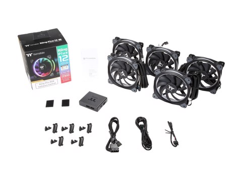 THERMALTAKE RIING PLUS 12 RGB (3 FAN)
