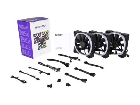 NZXT AER 2 RGB 120MM TRIPLE STARTER PACK