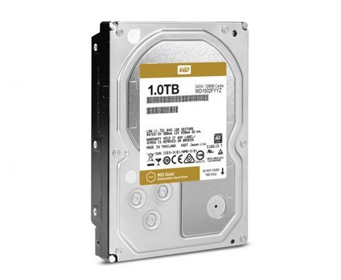 HDD WD GOLD 1TB 7200RPM 128MB 3.5'' SATA 6GB/S
