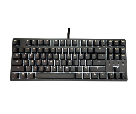 Bàn phím DURGOD Taurus K320 Corona Obsidian Black (Cherry-Blue/Red/Brown Switch)