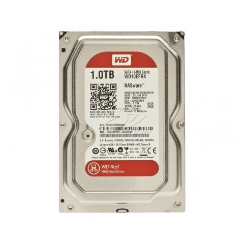 HDD WD RED 1TB 5400 RPM 64MB 3.5'' SATA 6GB/S