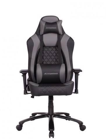 Ghế ACE GAMING CHAIR - SENTINEL SERIES - MODEL: KW-G612 - COLOR: BLACK/GREY