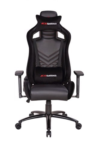 Ghế ACE GAMING CHAIR - VANGUARD SERIES - MODEL: KW-G601 - COLOR: BLACK
