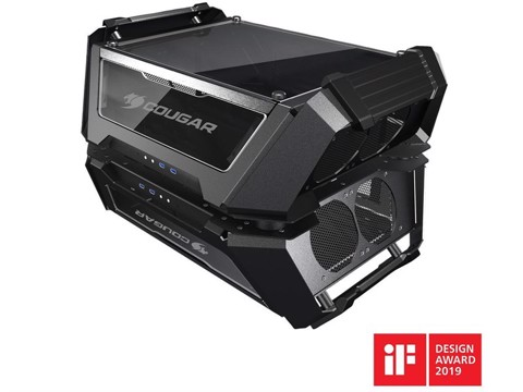 COUGAR GEMINI - X DUAL TOWER CASE - THE POWER OF TWO