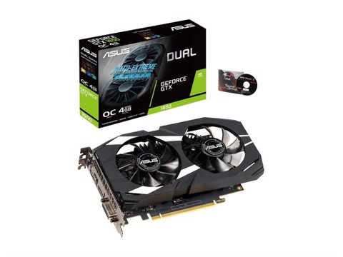 VGA ASUS DUAL GEFORCE® GTX 1650 OC EDITION 4GB