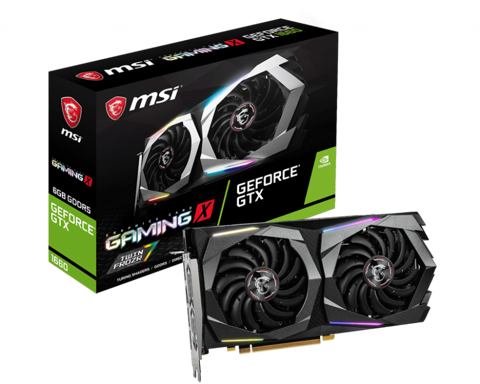 VGA MSI GEFORCE® GTX 1660 GAMING X 6G