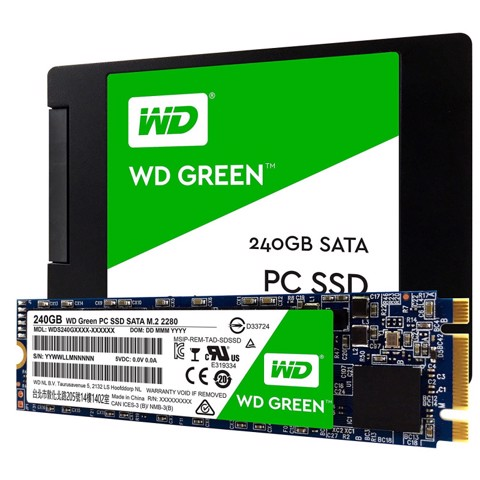 WD GREEN 240GB M.2-2280