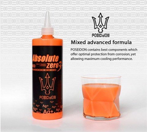 POSEIDON COOLANT PASTEL ORANGE