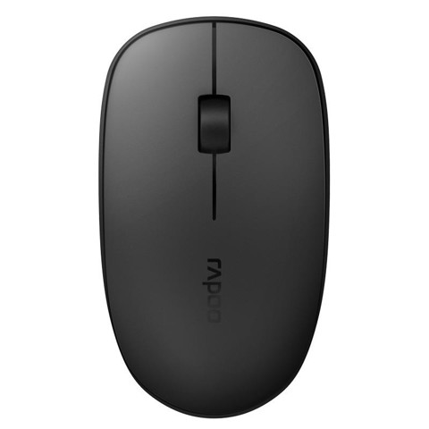Chuột RAPOO M200 SILENT MULTI-MODE WIRELESS MOUSE - DARK GREY