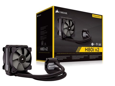 CORSAIR CPU HYDRO COOLER H80I V2