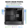 Case CORSAIR CARBIDE 678C LOW NOISE TEMPERED GLASS ATX CASE