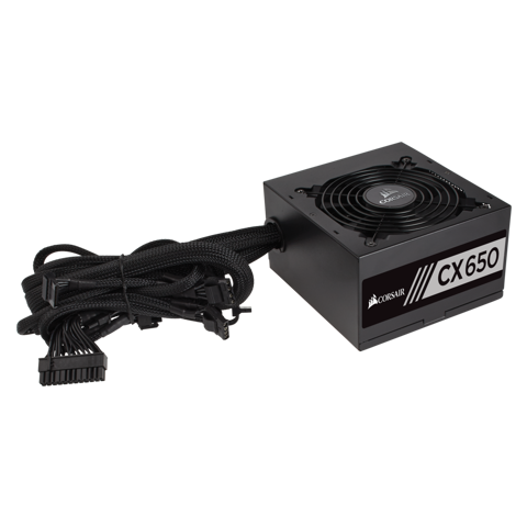 Nguồn CORSAIR CX650M - 80 PLUS BRONZE - NEW - SEMI MODUL