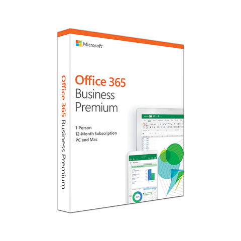 Office 365 Bus Prem Retail English APAC EM Subscr 1YR Mdls