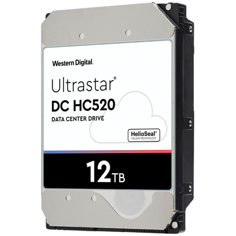 HDD WD ULTRASTAR DC HA520 12TB 3.5, 256MB CACHE, 7200RPM