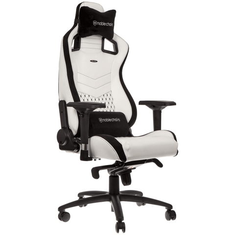 NOBLE CHAIR EPIC WHITE/BLACK