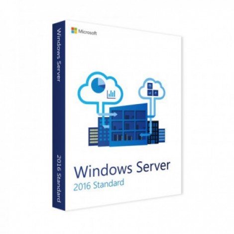 Windows Server Std 2016 64Bit English 1pk DSP OEI DVD 16 Core