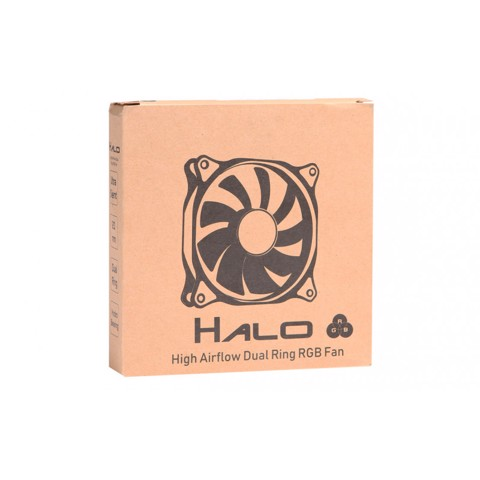 FAN SAMA HALO DUAL RING REGULAR RGB 120