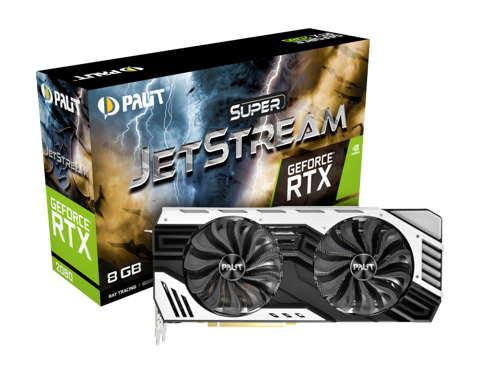 PALIT GEFORCE RTX 2080 SUPER JETSTREAM 8GB