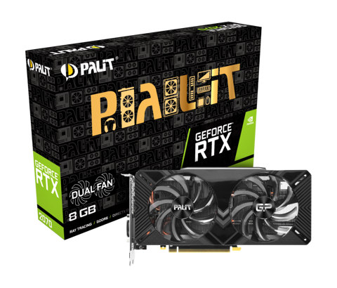 PALIT GEFORCE RTX 2070 8GB DUAL