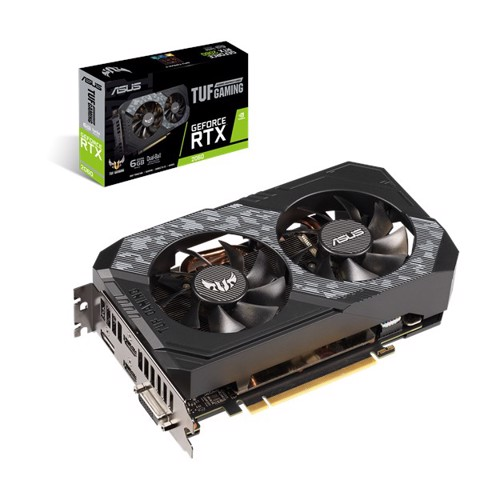VGA ASUS TUF GAMING GEFORCE RTX™ 2060 6GB GDDR6