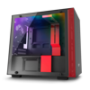 Case NZXT H200I SMART ATX (MATTE BLACK-RED)