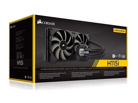 CORSAIR CPU HYDRO COOLER H115I - 280MM