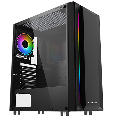 Case XIGMATEK HELIOS (RGB STRIP)
